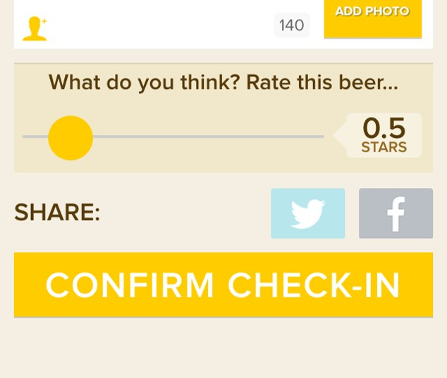 Am I too harsh on Untappd?